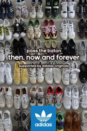 『Then, Now and Forever』展 supported by adidas Originals